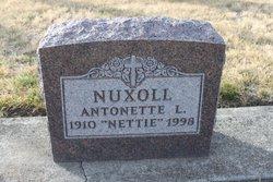 """Antonette Lydia """"Nettie"""" <I>Sonnen</I> Nuxoll"""