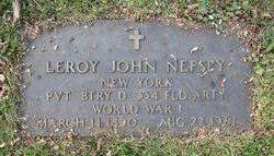 Leroy John Nefsey