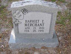 Harriet E Merchant