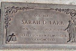 Sarah D. Lara