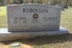 Jane Elizabeth <I>Rusk</I> Robinson