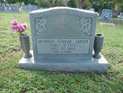 Marion <I>O'Neal</I> Smith