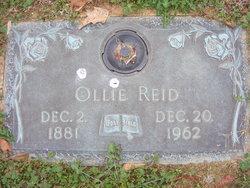 Ollie Ann <I>Hatfield</I> Reid