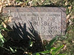 Billy Joe Busbee