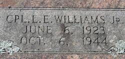 Corp L E Williams, Jr