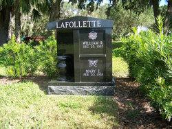 William R Lafollette