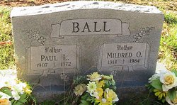 Mildred O. <I>Carter</I> Ball