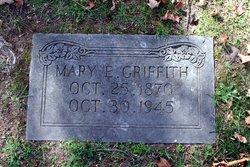 Mary Ella <I>Whaley</I> Griffith