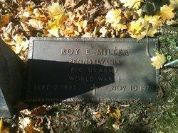 Roy E Miller