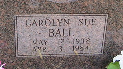 Carolyn Sue Ball
