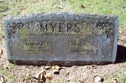 Margaret <I>Lemister</I> Myers