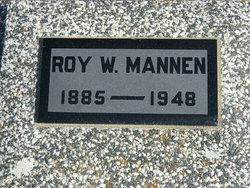 Roy W Mannen