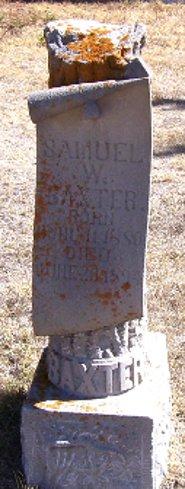 Samuel W Baxter