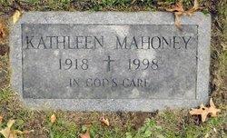 Kathleen <I>Brady</I> Mahoney