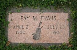 Fay M Davis
