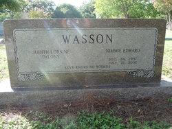 Nimmie Edward Wasson