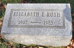Elizabeth <I>Elliott</I> Rush
