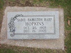 Sadie Hamilton <I>Harp</I> Hopkins