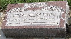 Margaret Winona <I>Nelson</I> Irving