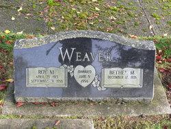 Roy M Weaver