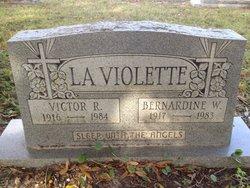 Bernardine W La Violette