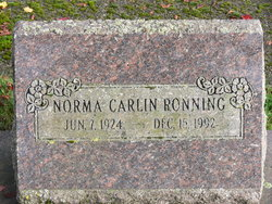 Norma Carlin Ronning