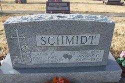 """Anastasia C """"Annas"""" Schmidt"""