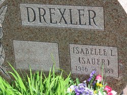Isabelle L <I>Sauer</I> Drexler