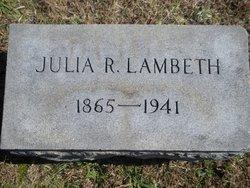 Julia Rebecca Lambeth