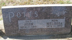 Melissia <I>Bottoms</I> Potts