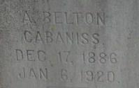 A Belton Gabaniss