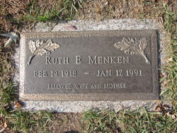 Ruth E Menken