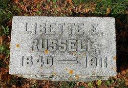 Lisette Elizabeth <I>Belcher</I> Russell