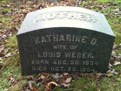 Katharine D Weber