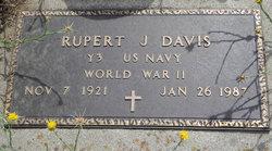 """Rupert J """"Putt"""" Davis"""