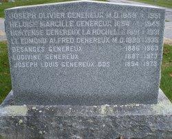Lieut Edmond Alfred Genereux