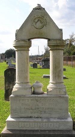 """Frederick W """"Fred"""" Robinson"""