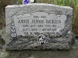 Annie Jennie Dickson