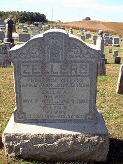 """Sarah Anne """"Sallie"""" <I>Foltz</I> Zellers"""
