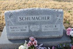 Agnes B <I>Cusack</I> Schumacher