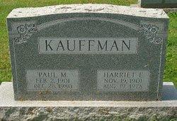 Harriett E Kauffman