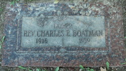 Rev Charles Everett Boatman