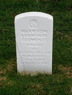 Harrison Lenwood Clements