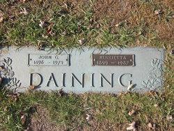 John G Daining