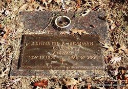 Kenneth R Bowman