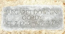 Margaret Downing Gordy