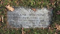 Frank W. Vining