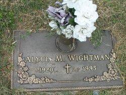 Alyce M Wrightman
