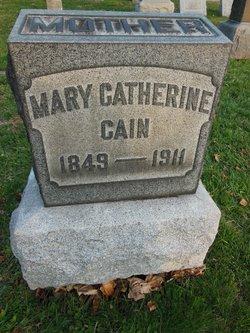 Mary Catherine <I>Barrett</I> Cain