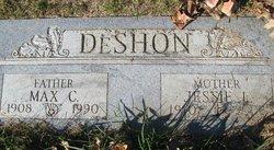 Jessie Lenora <I>Redfearn</I> DeShon